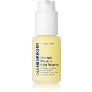 Dewtopia 20% Acid Night Treatment, 30ml