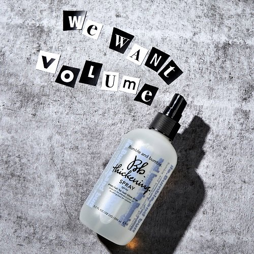 Volumizing essentials for big hair that's soft. Moveable. Touchable.