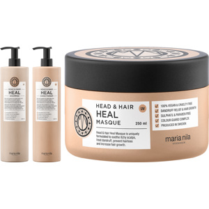 Head & Hair Heal Trio Big Size, 1000+1000+250ml