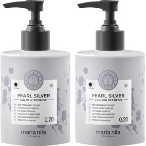 Colour Refresh Pearl Silver Duo, 2x300ml