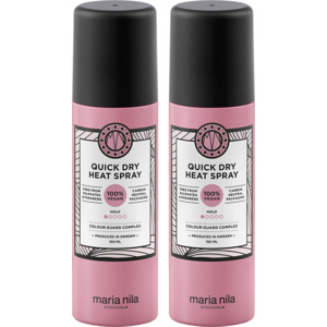 Quick Dry Heat Spray Duo, 2x150ml