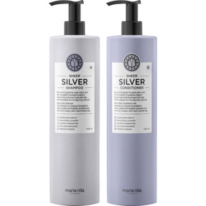 Sheer Silver Duo Big Size, 1000+1000ml