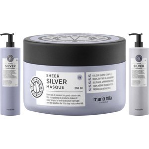 Sheer Silver Trio Big Size, 1000+1000+250ml