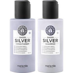 Sheer Silver Duo Travel, 100+100ml
