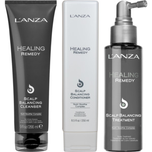 Healing Remedy Scalp Balancing Trio, 250+250+100ml