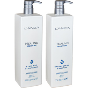 Healing Moisture Duo Big Size, 1000+1000ml