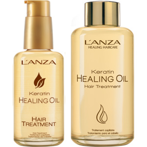 Keratin Healing Oil Hair Treatment Duo, 100+50ml