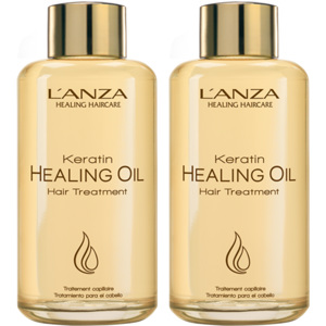 Keratin Healing Oil Hair Treatment Duo, 2x50ml
