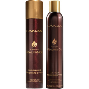 Keratin Healing Oil Finishing Spray Duo, 350+100ml