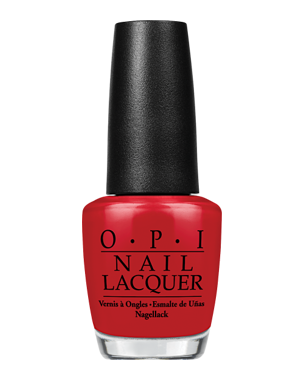 Nail Lacquer, Red Hot Rio A70