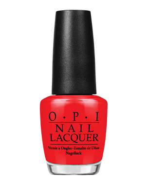 Nail Lacquer, Big Apple Red